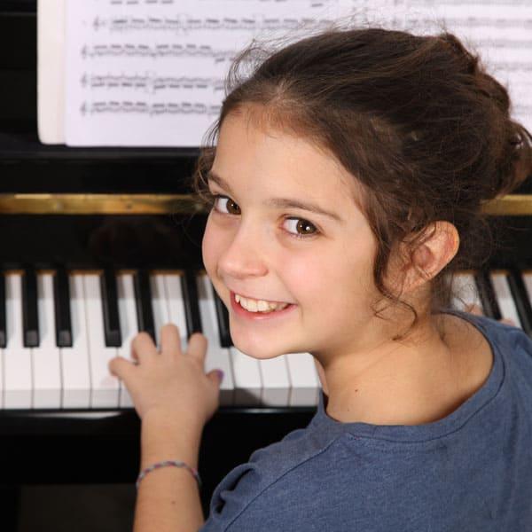 Begeisterung für das Klavierspielen