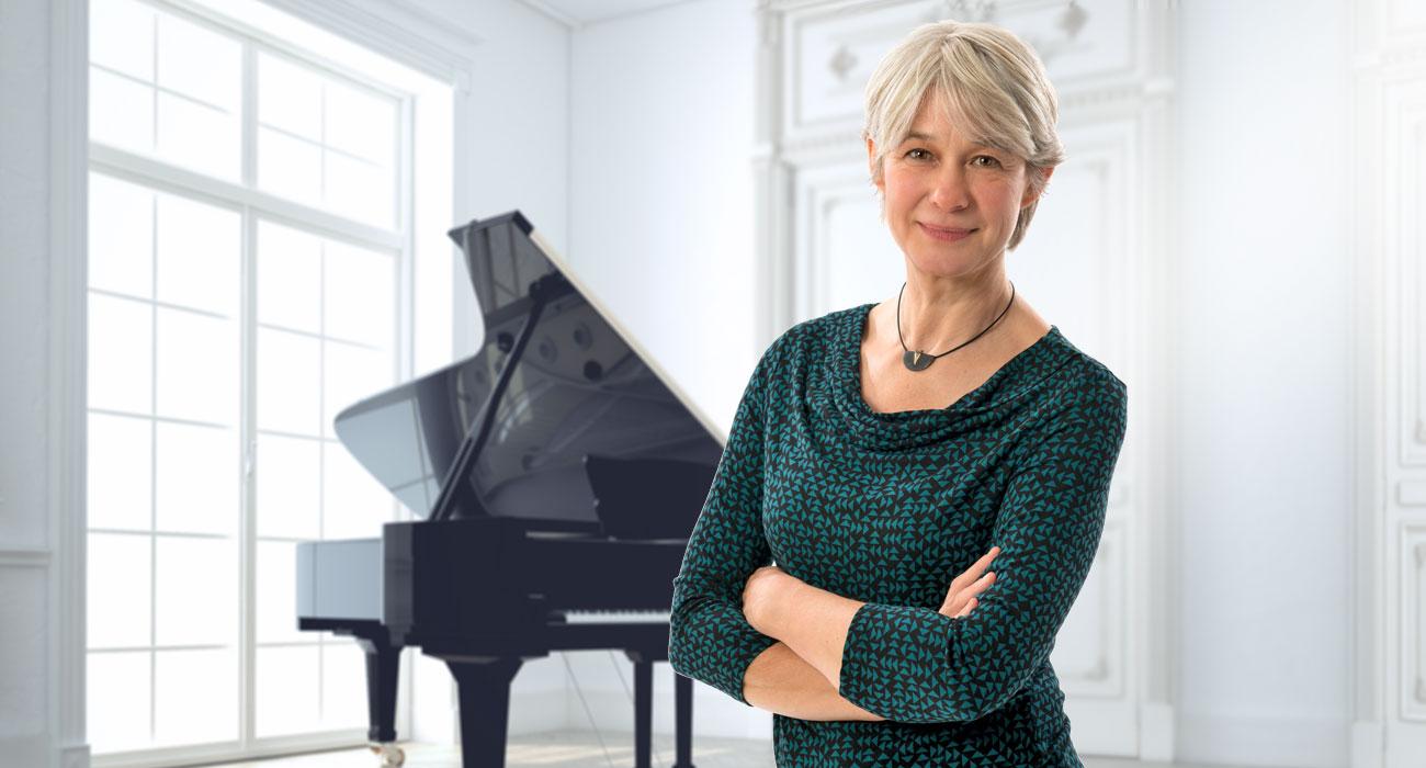Musiklehrerin Irene Brewi-Grote